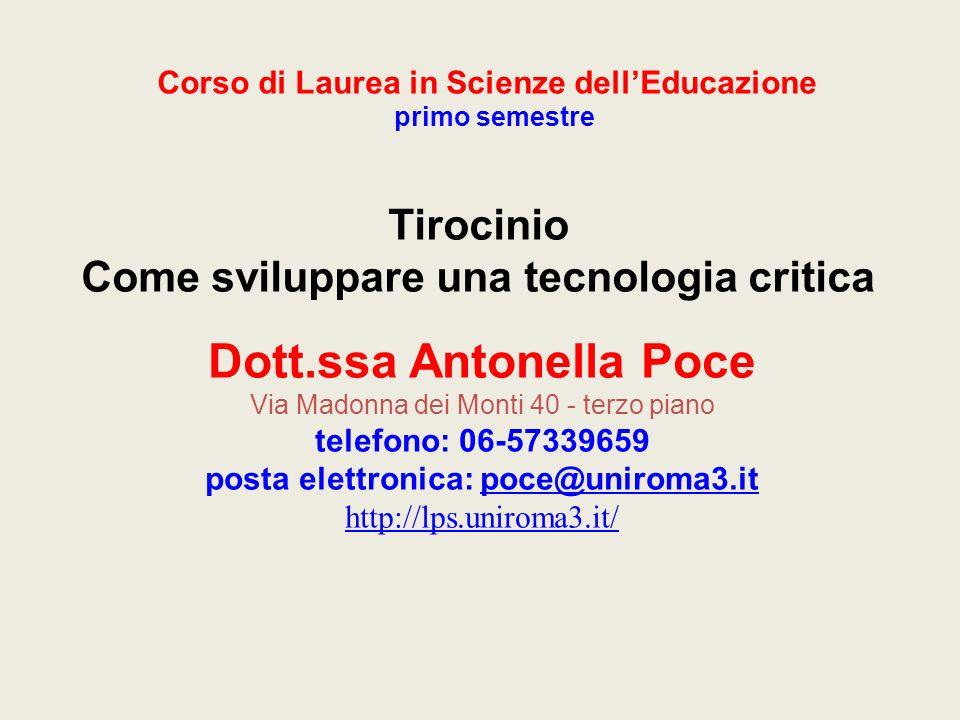 Dott.ssa Antonella Poce