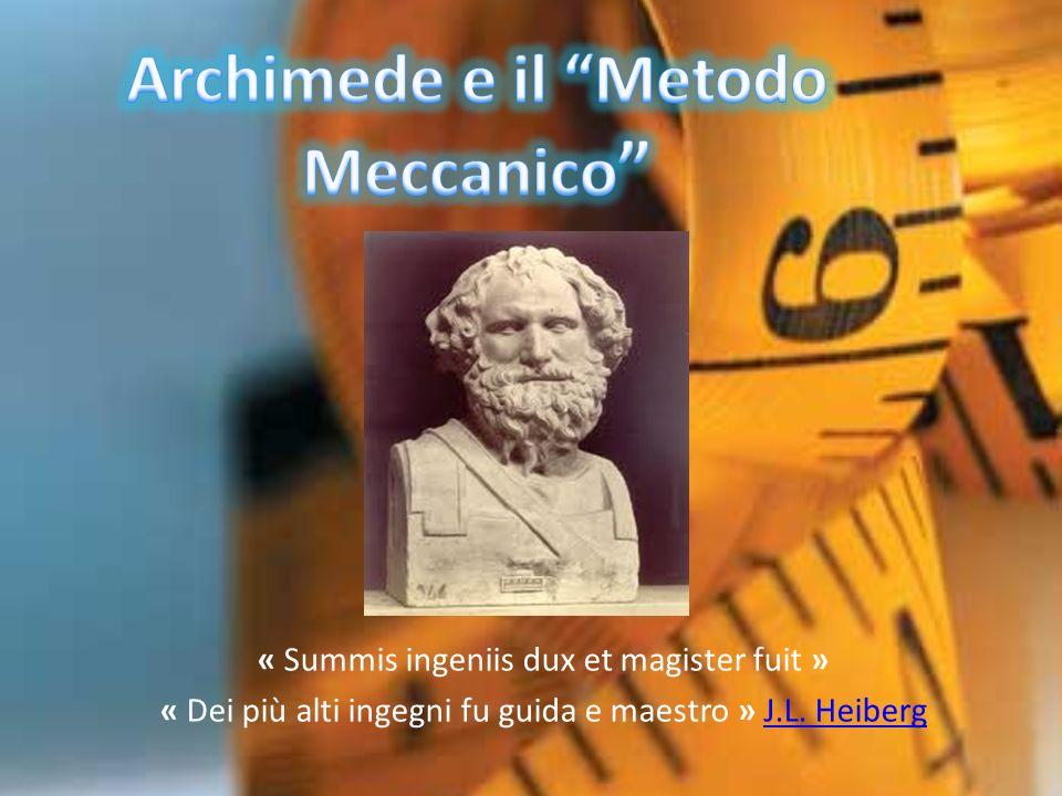 Archimede e il Metodo Meccanico
