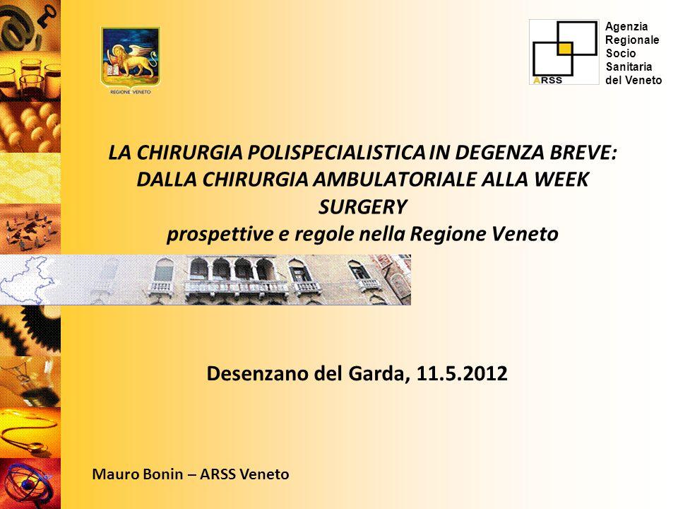 Agenzia Regionale Socio. Sanitaria. del Veneto.