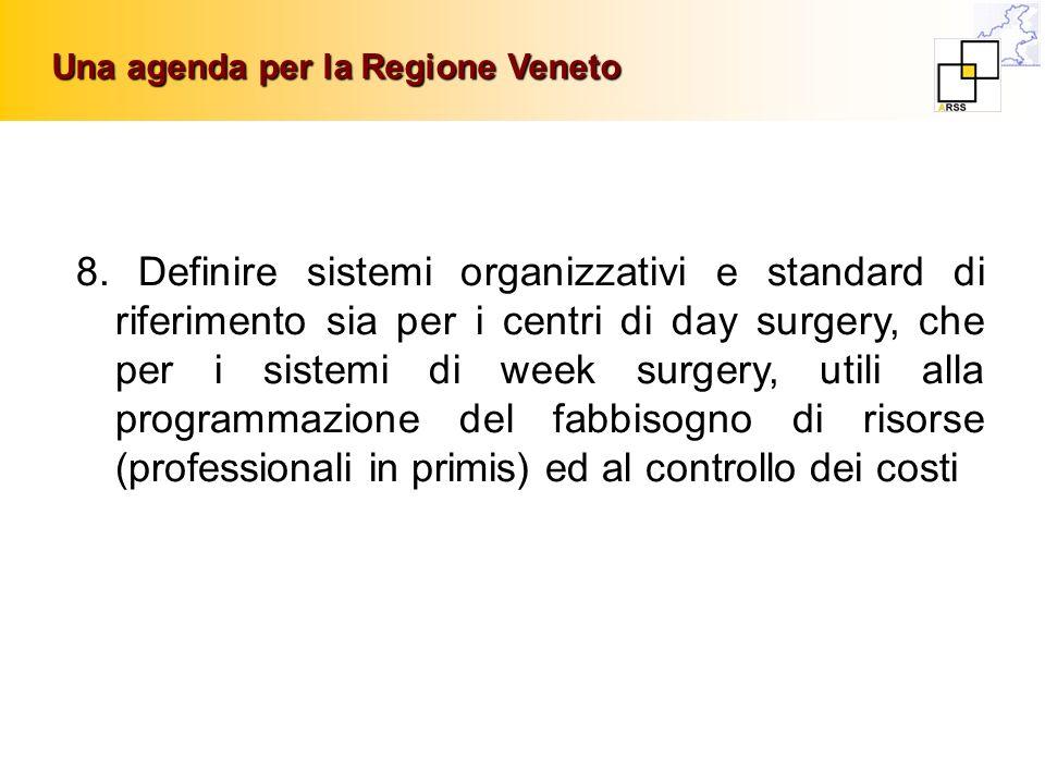 Una agenda per la Regione Veneto