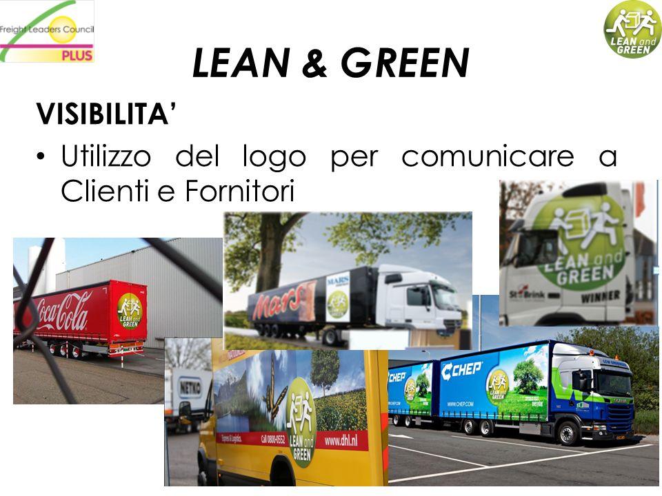 LEAN & GREEN VISIBILITA'