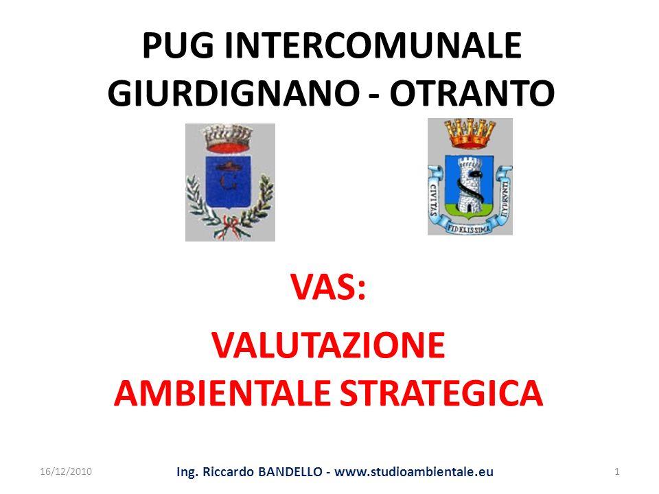PUG INTERCOMUNALE GIURDIGNANO - OTRANTO