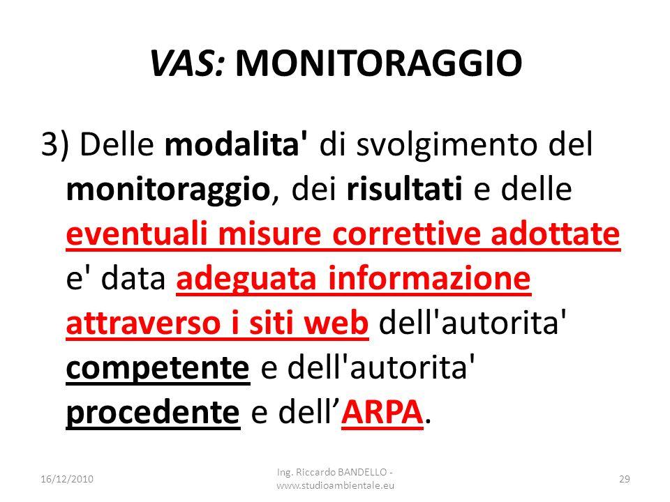 Ing. Riccardo BANDELLO - www.studioambientale.eu