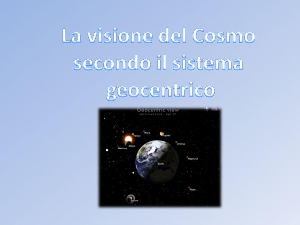 La visione del Cosmo secondo il sistema geocentrico