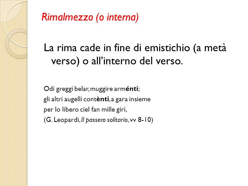 Rimalmezzo (o interna)