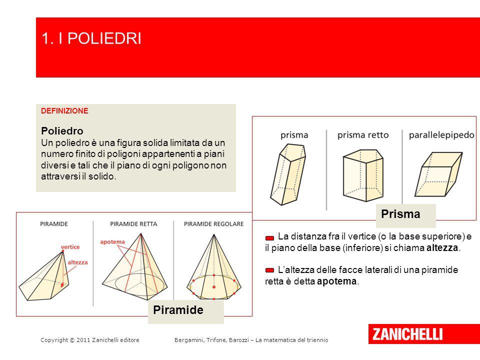 1. I POLIEDRI /15 Prisma Piramide Poliedro