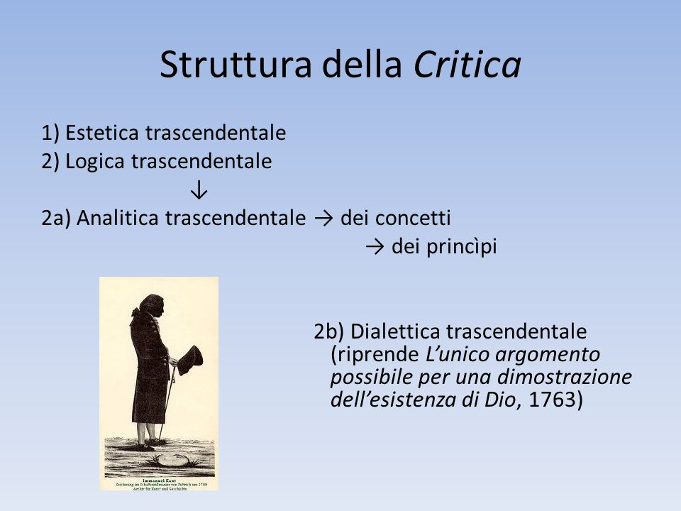 Struttura della Critica