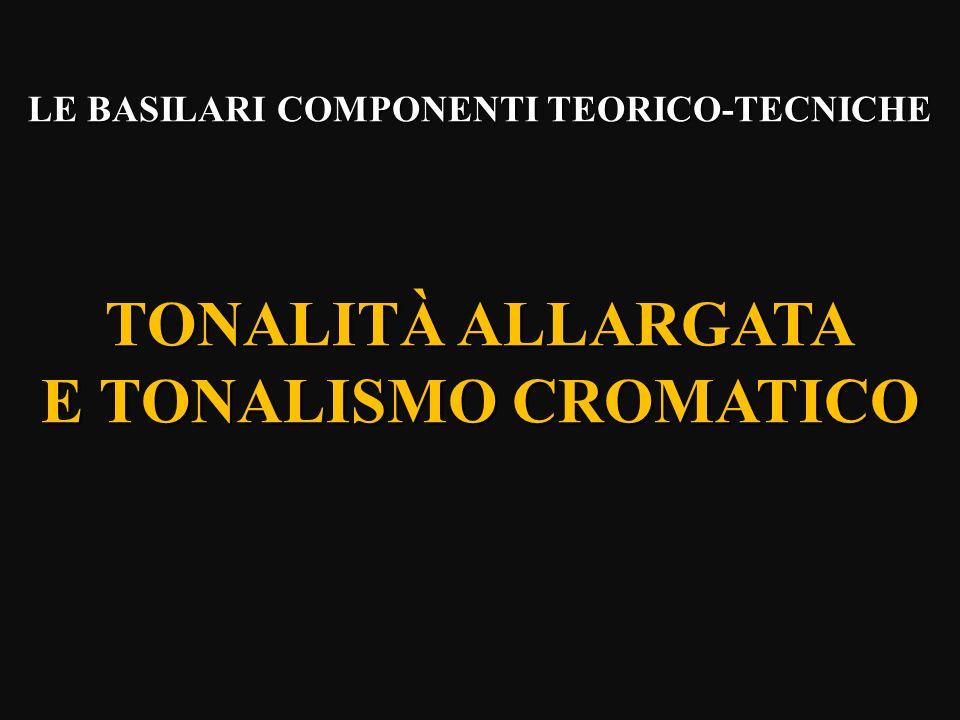LE BASILARI COMPONENTI TEORICO-TECNICHE