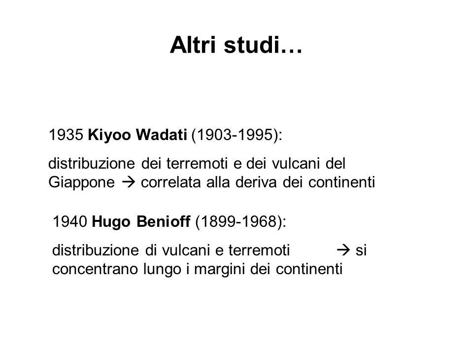 Altri studi… 1935 Kiyoo Wadati (1903-1995):