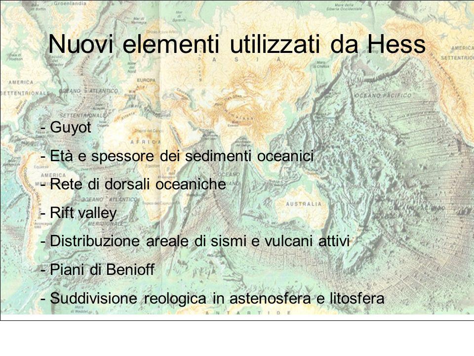 Nuovi elementi utilizzati da Hess