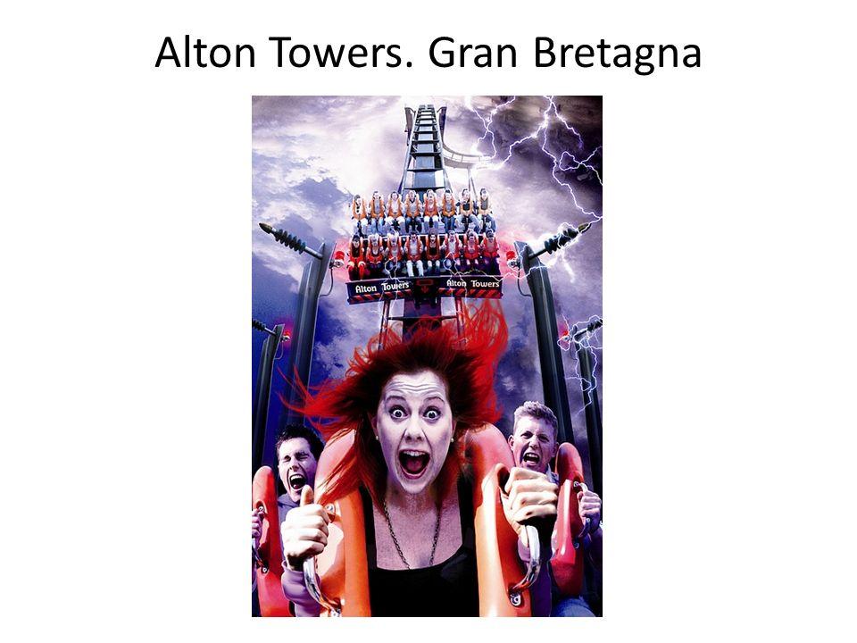 Alton Towers. Gran Bretagna