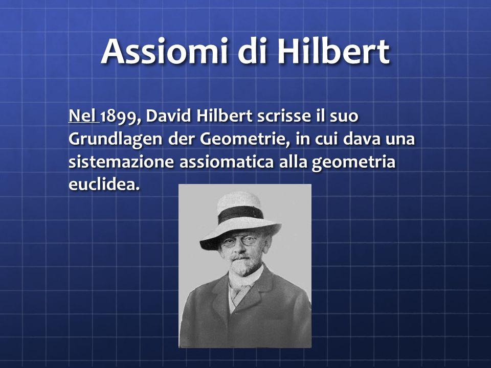 Assiomi di Hilbert