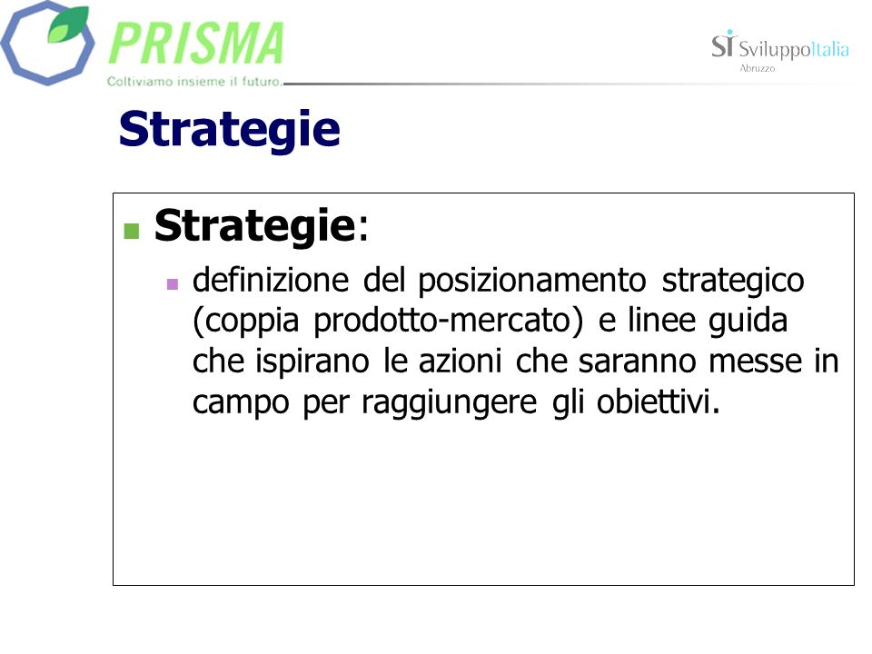 StrategieStrategie: