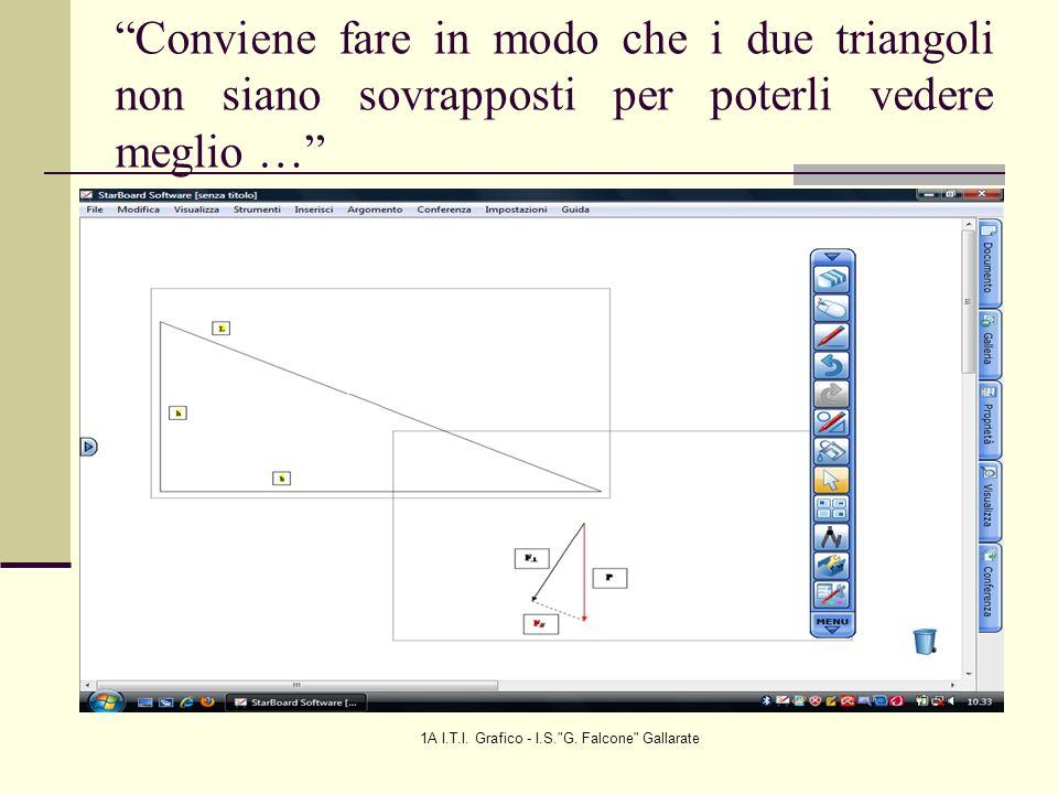 1A I.T.I. Grafico - I.S. G. Falcone Gallarate