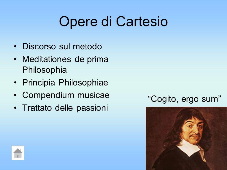 Opere di Cartesio Discorso sul metodo