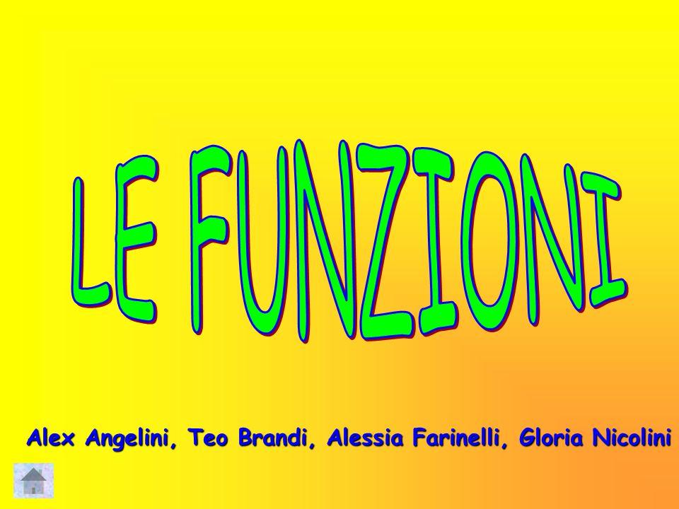 LE FUNZIONI Alex Angelini, Teo Brandi, Alessia Farinelli, Gloria Nicolini