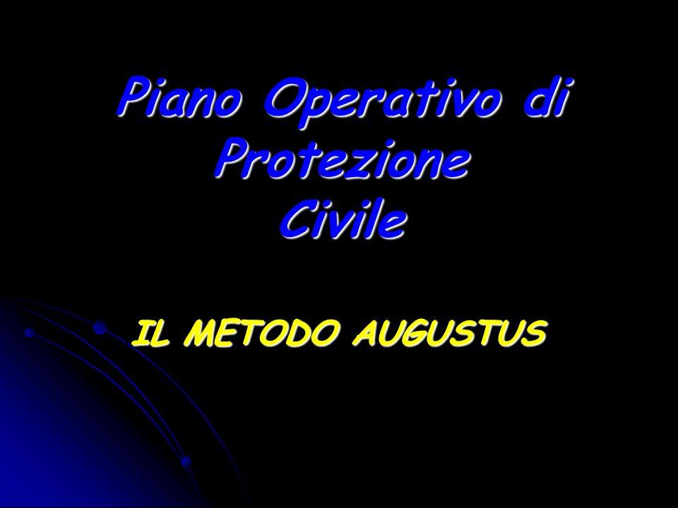 Piano Operativo di Protezione Civile