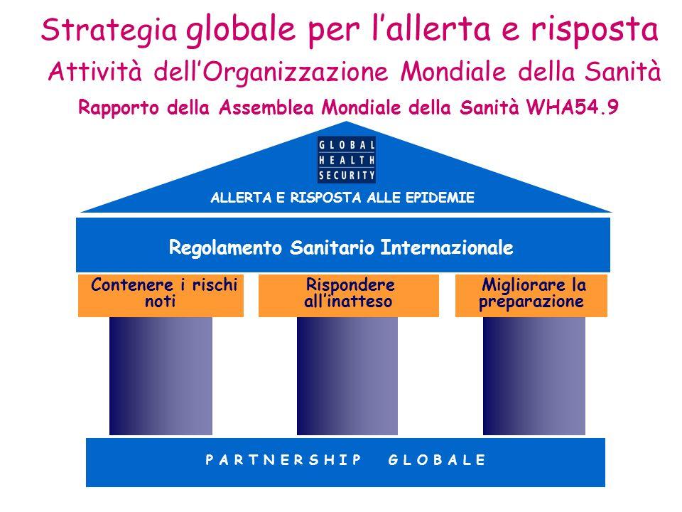 Rapporto della Assemblea Mondiale della Sanità WHA54.9
