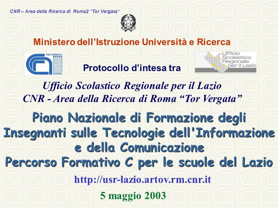 Percorso Formativo C per le scuole del Lazio