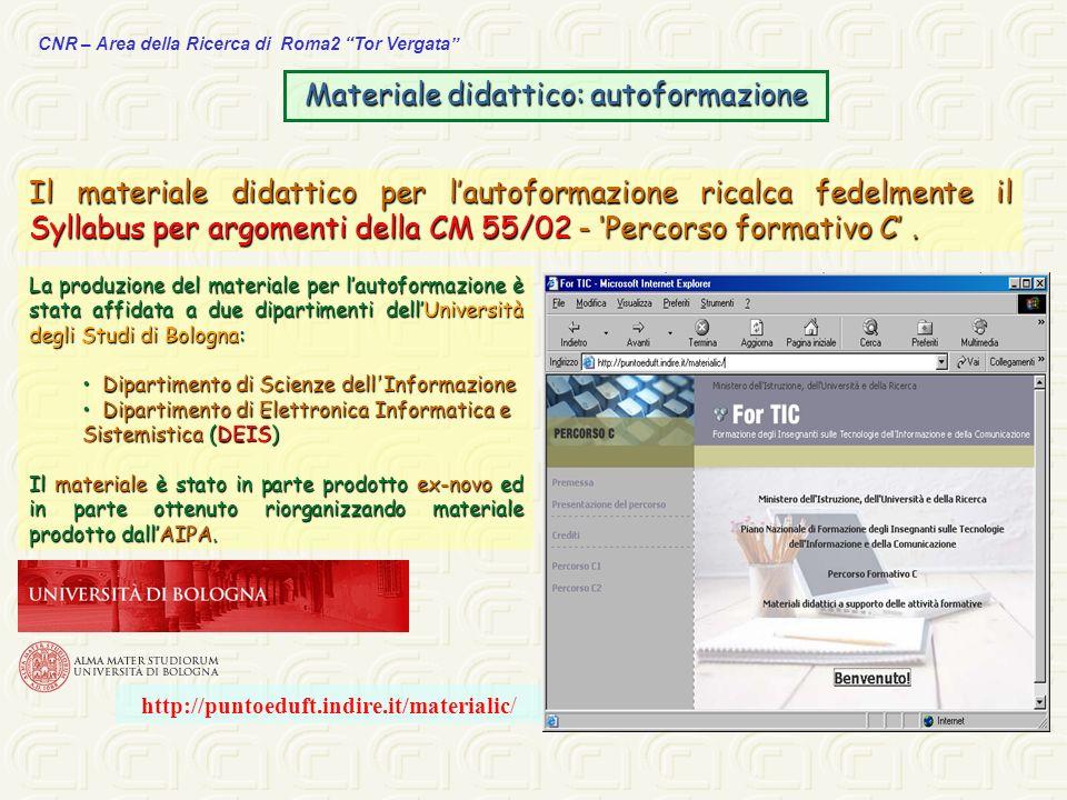 Materiale didattico: autoformazione