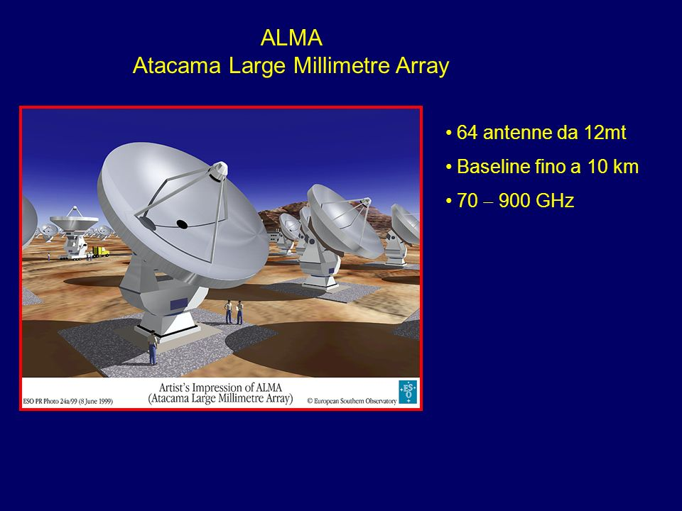 ALMA Atacama Large Millimetre Array