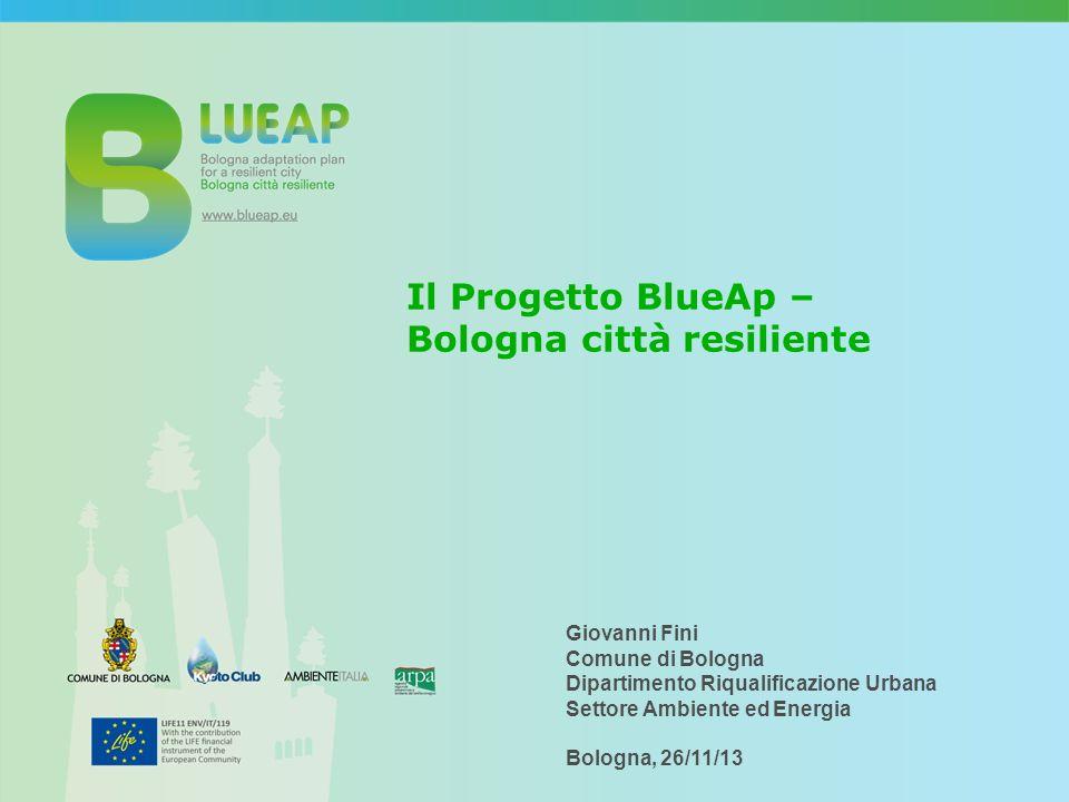 Il Progetto BlueAp – Bologna città resiliente