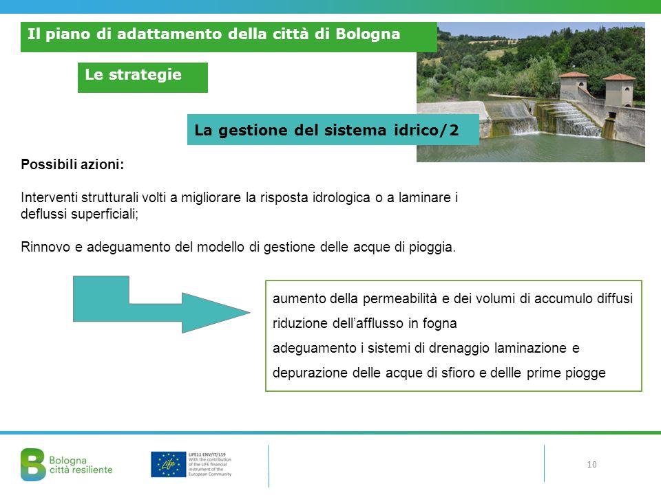 Il piano di adattamento della città di Bologna