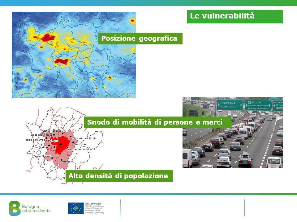 Le vulnerabilità Posizione geografica