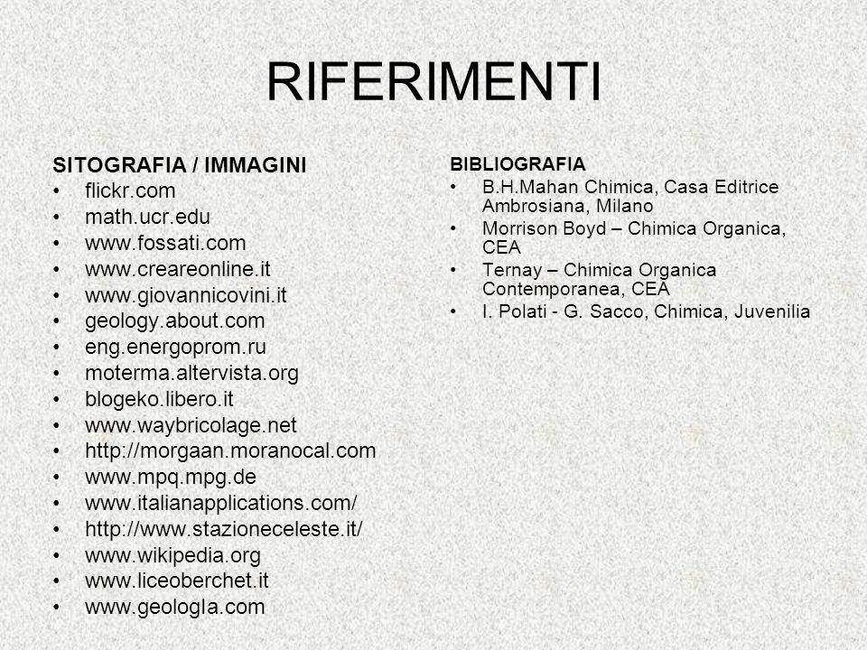 RIFERIMENTI SITOGRAFIA / IMMAGINI flickr.com math.ucr.edu