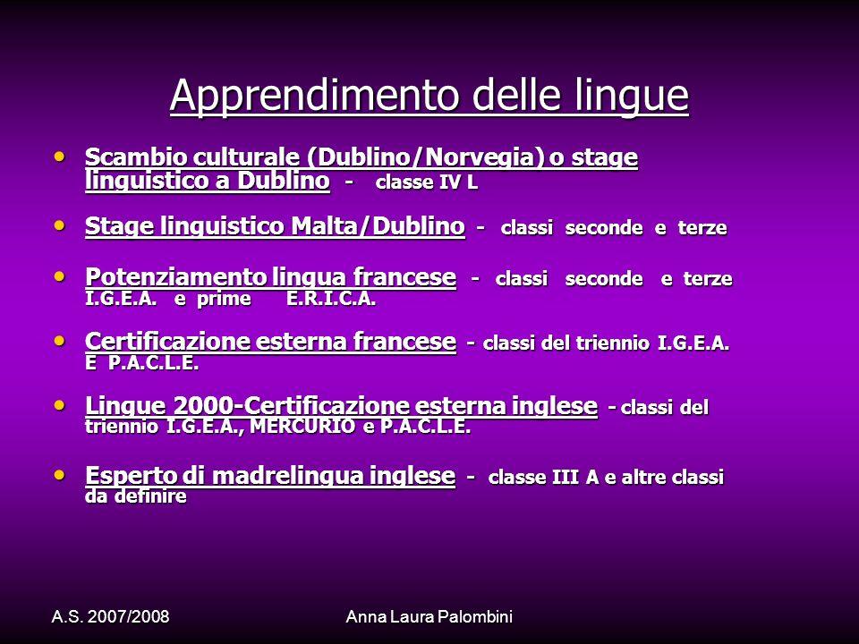 Apprendimento delle lingue