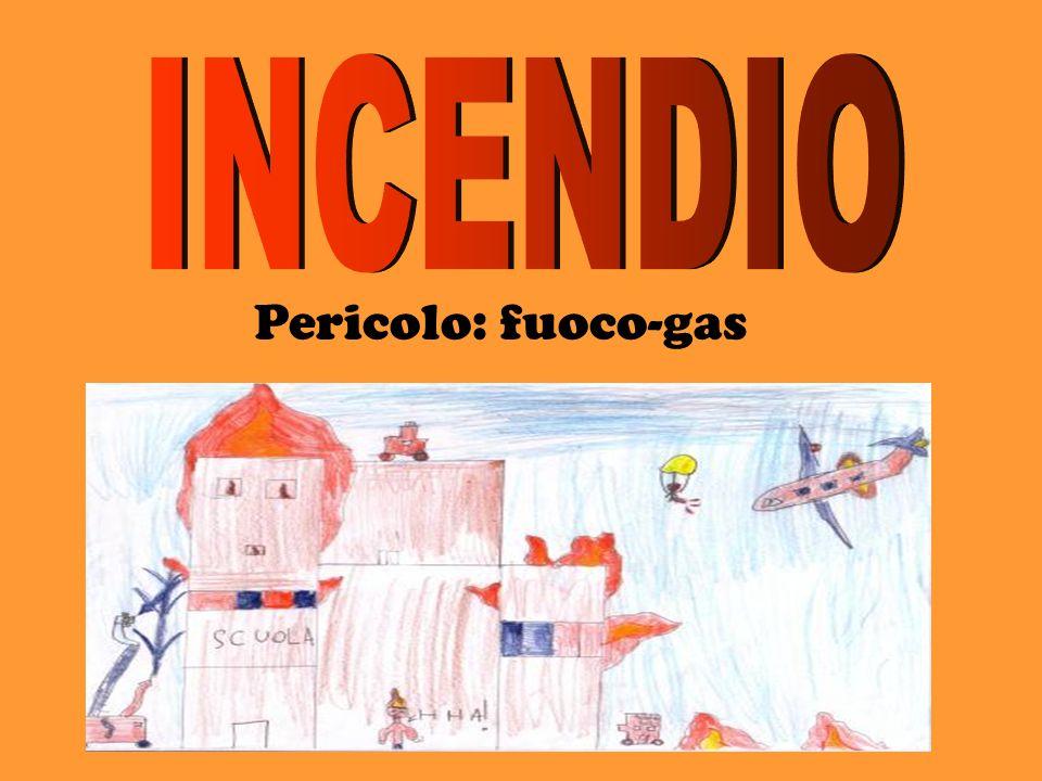 INCENDIO Pericolo: fuoco-gas