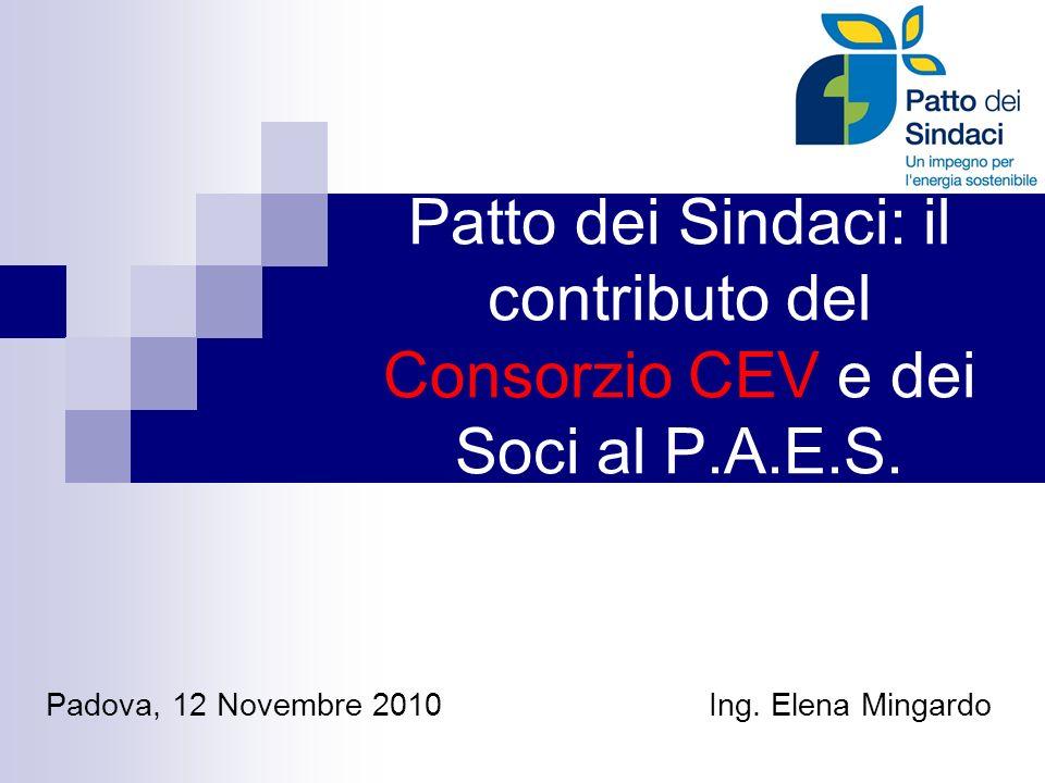Padova, 12 Novembre 2010 Ing. Elena Mingardo