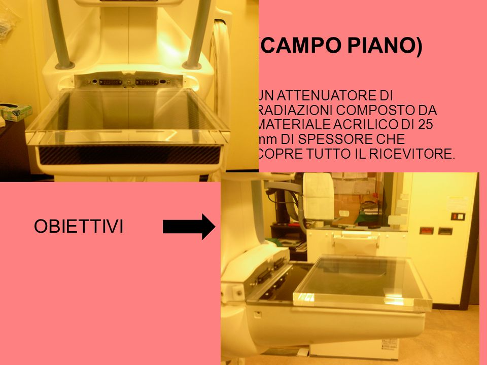 TEST FLAT FIELD (CAMPO PIANO)