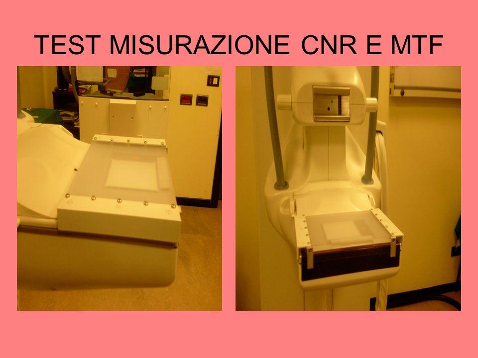 TEST MISURAZIONE CNR E MTF