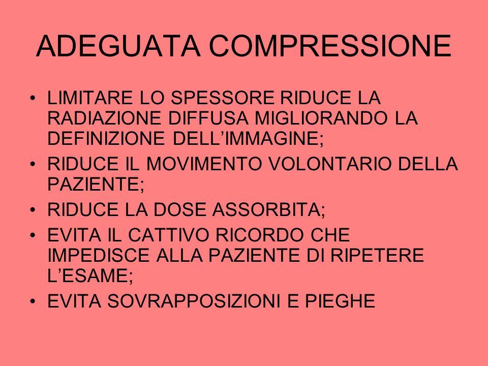 ADEGUATA COMPRESSIONE