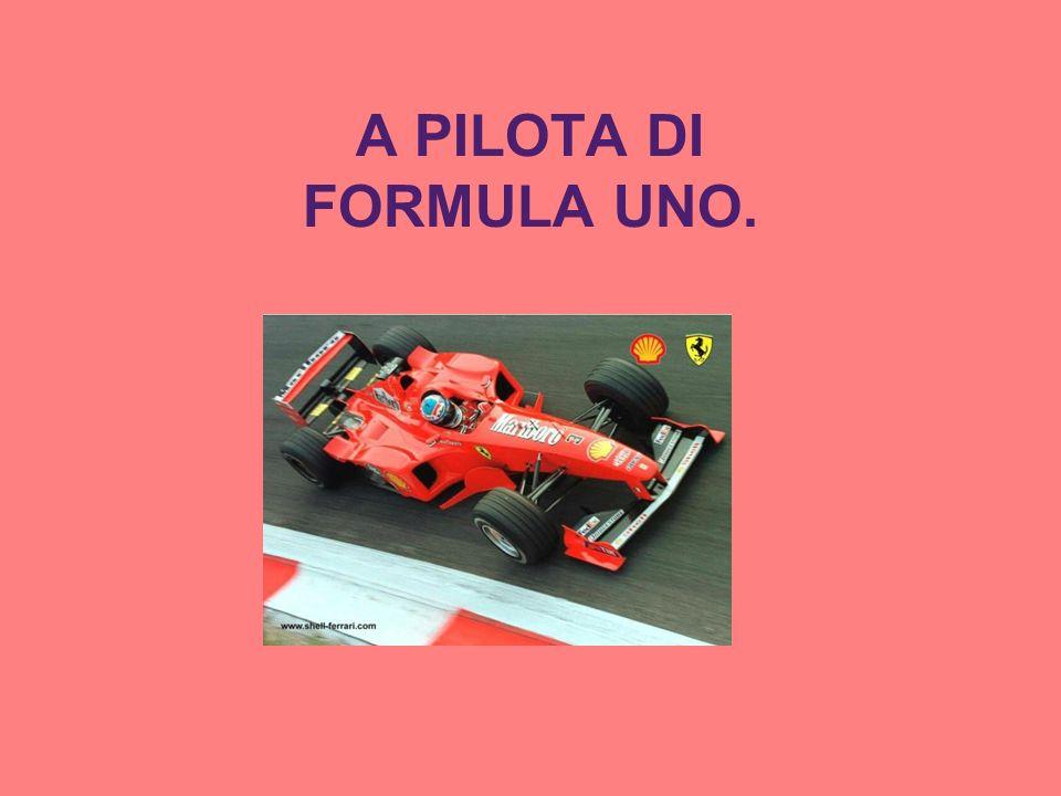 A PILOTA DI FORMULA UNO.
