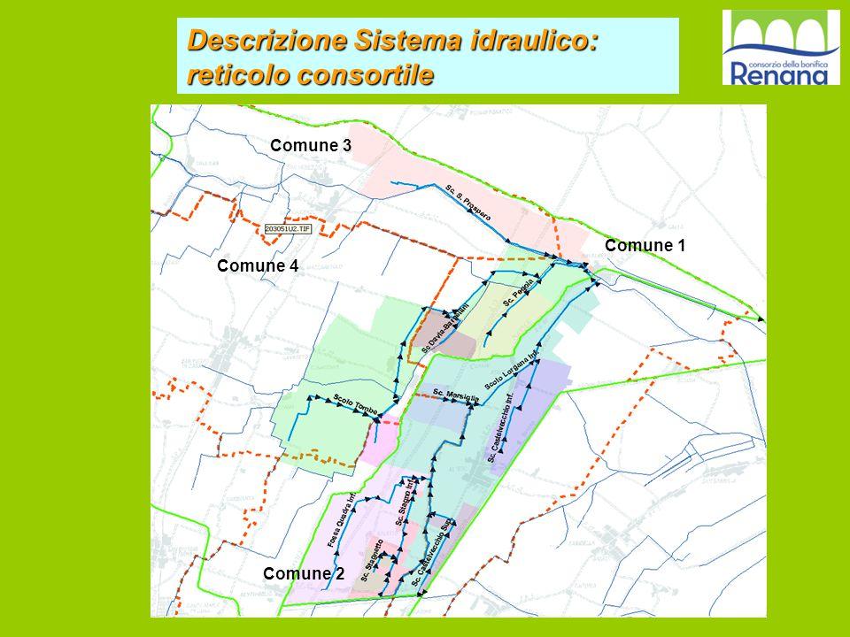Descrizione Sistema idraulico: reticolo consortile