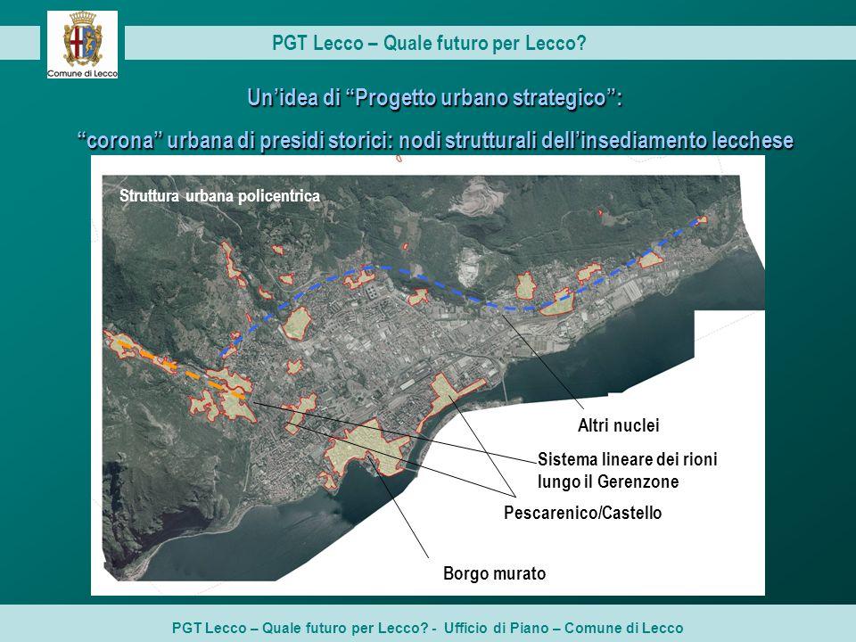 Un'idea di Progetto urbano strategico :
