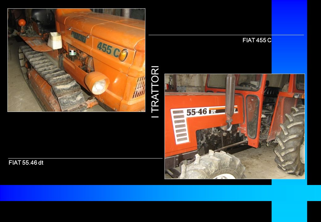 FIAT 455 C I TRATTORI FIAT 55.46 dt