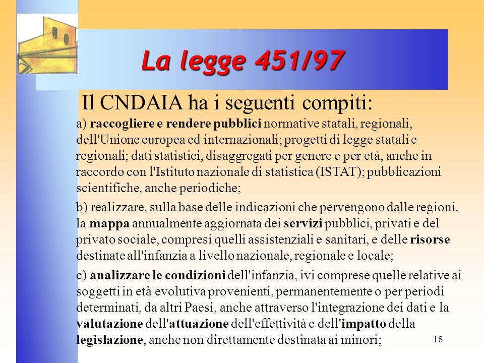 La legge 451/97
