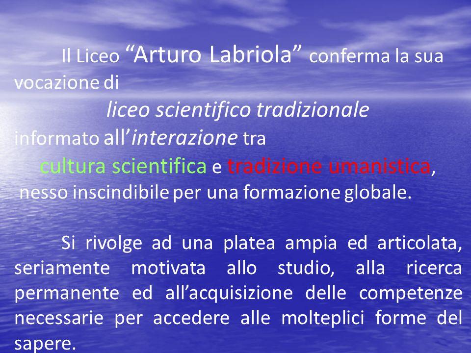 liceo scientifico tradizionale