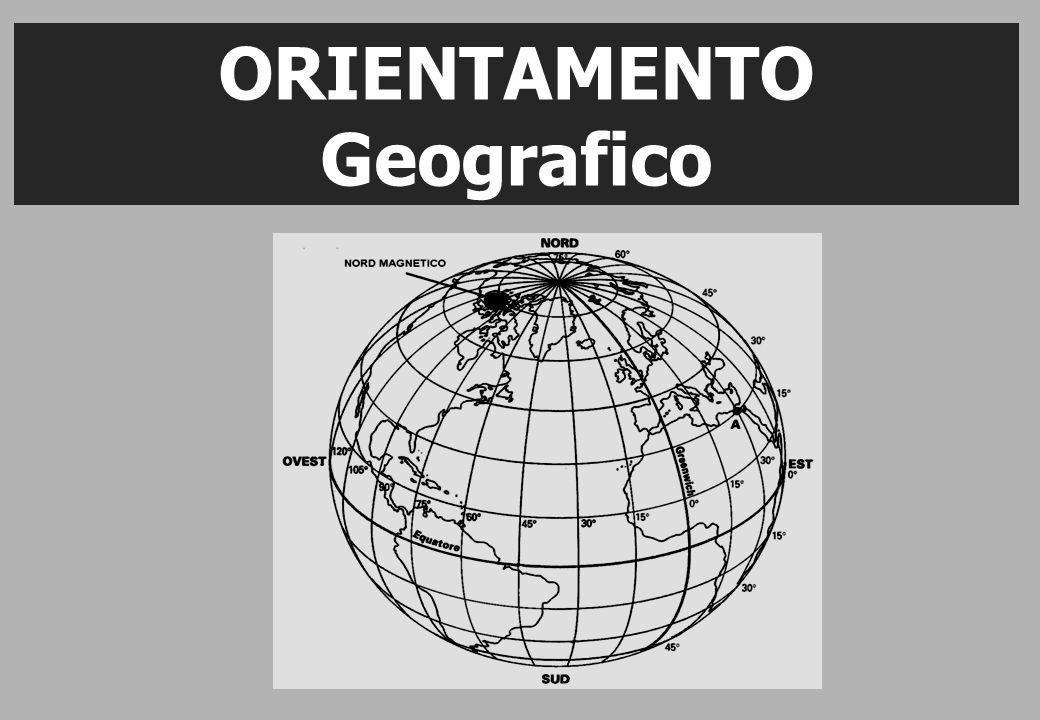 ORIENTAMENTO Geografico