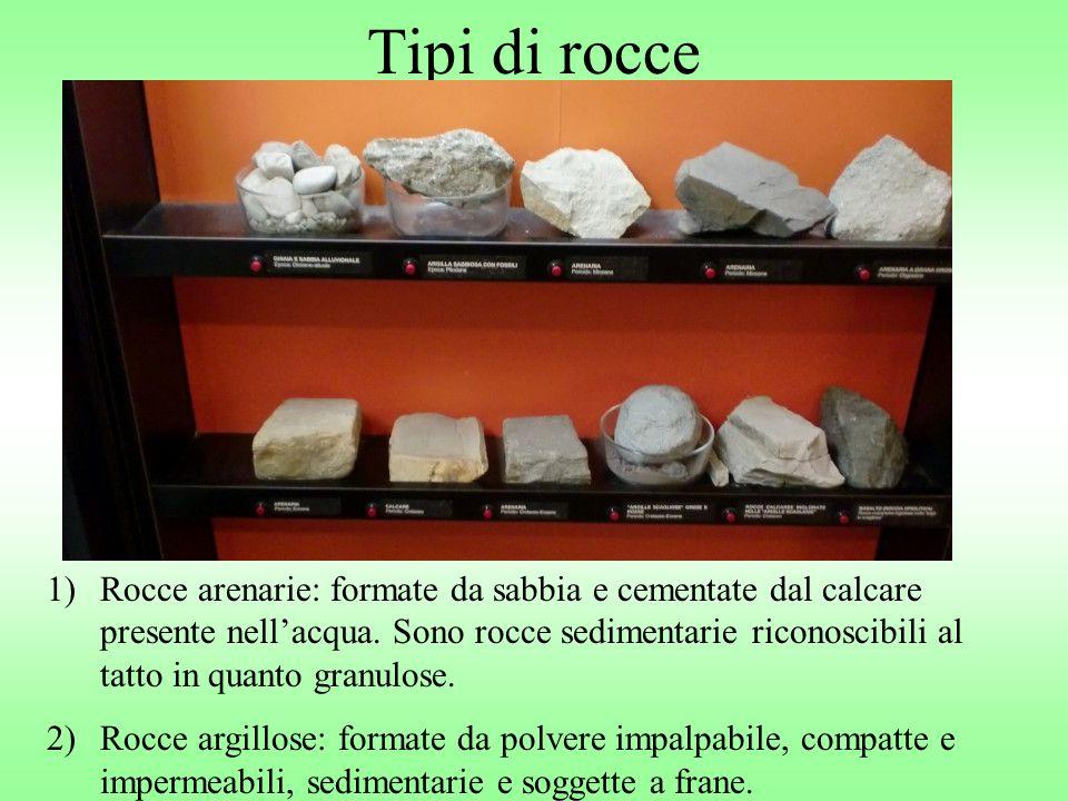 Tipi di rocce