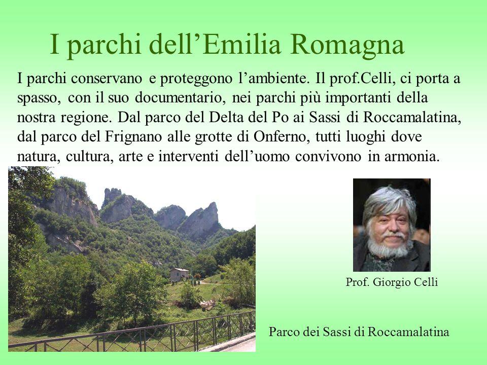 I parchi dell'Emilia Romagna