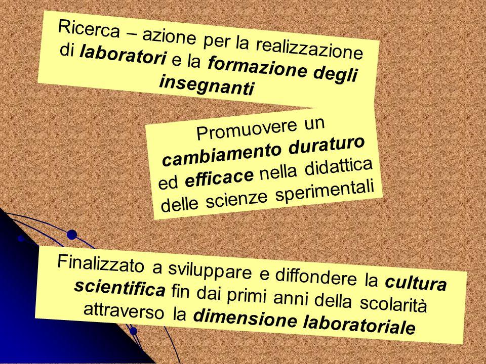 Ricerca – azione per la realizzazione di laboratori e la formazione degli insegnanti