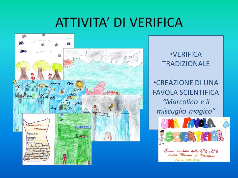 ATTIVITA' DI VERIFICA VERIFICA TRADIZIONALE