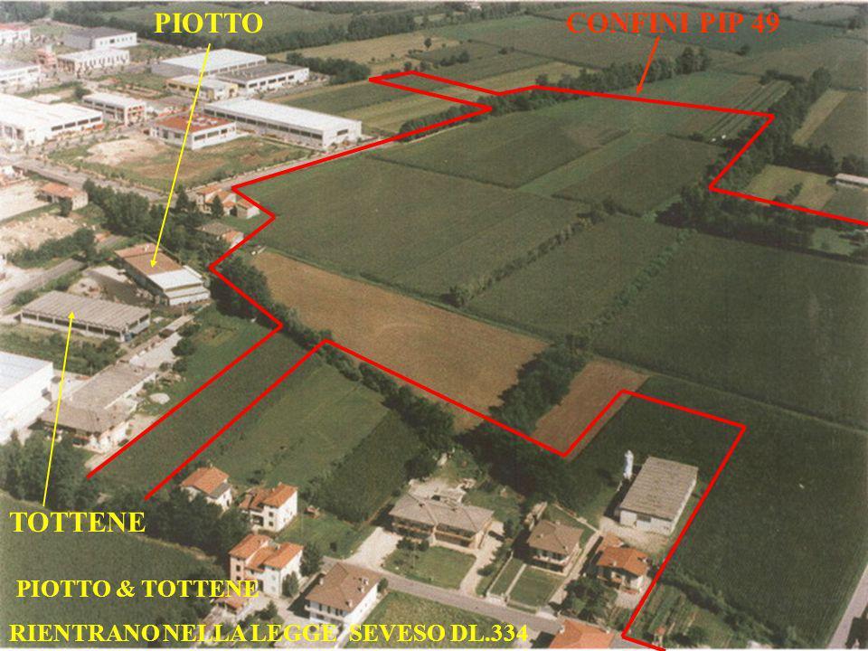 CONFINI PIP 49 PIOTTO TOTTENE PIOTTO & TOTTENE