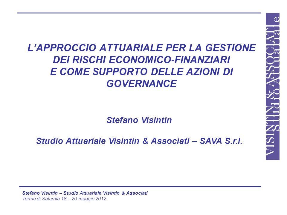 Stefano Visintin Studio Attuariale Visintin & Associati – SAVA S.r.l.