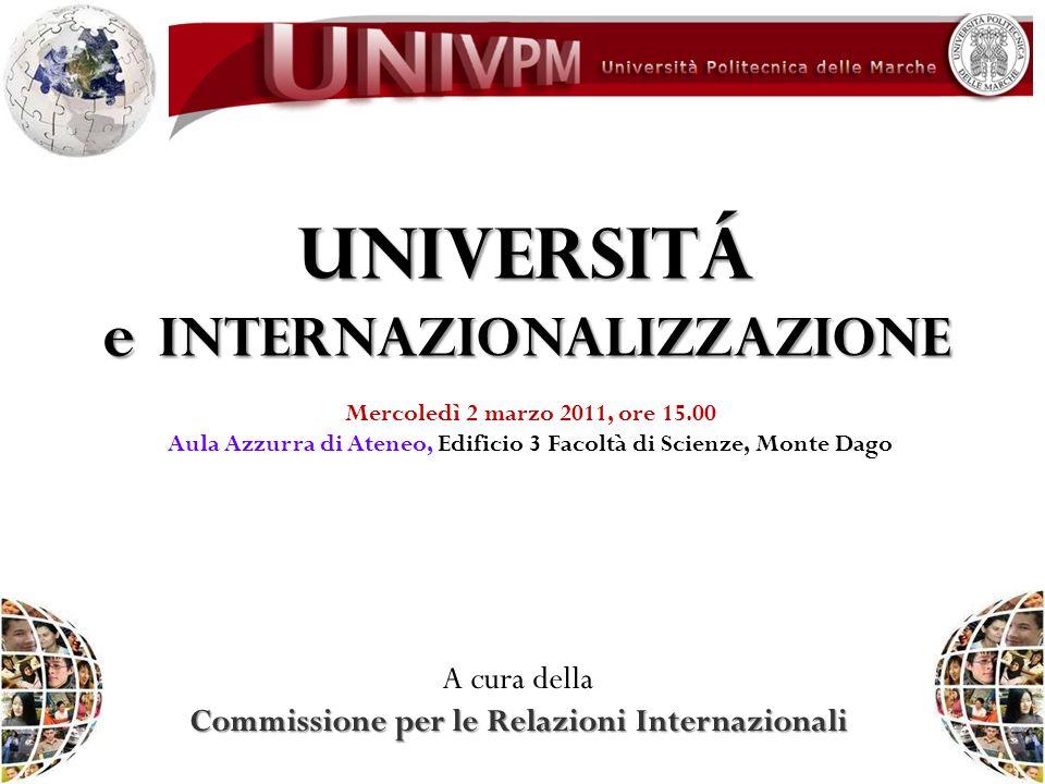 e internazionalizzazione