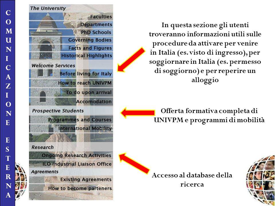 Offerta formativa completa di UNIVPM e programmi di mobilità